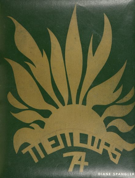 1974 Dundalk High School Yearbook Cover
