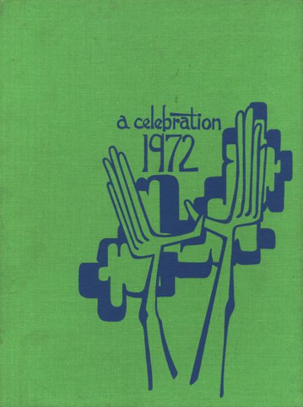 1972 Troy High School Yearbook Cover