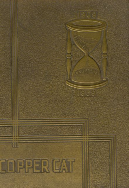 1959 Morenci High School Yearbook Cover