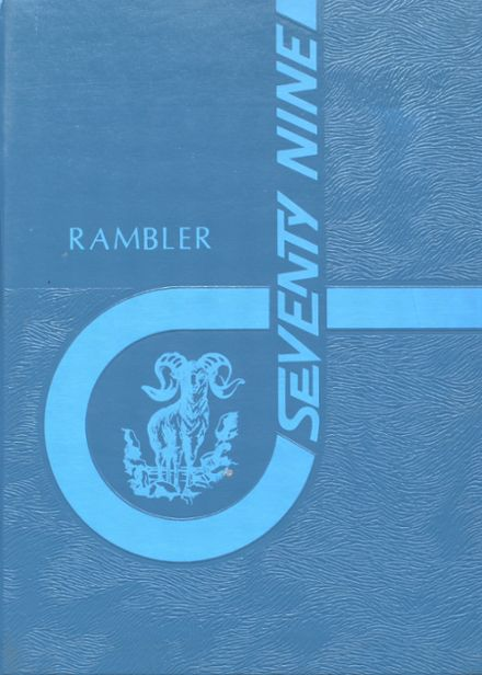1979 Maple Valley High School Yearbook Cover