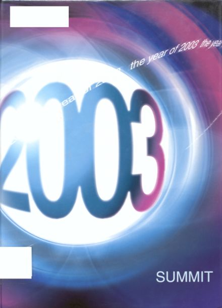 2003 Chester High School Yearbook Cover