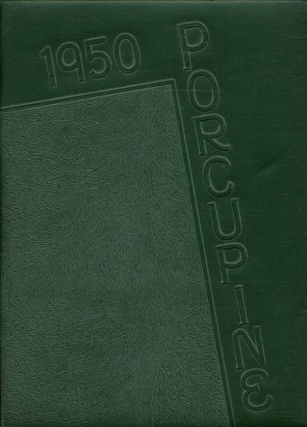1950 Reedley High School Yearbook Cover