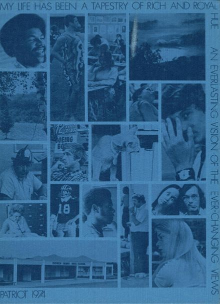1974 Patrick Henry High School Yearbook Cover