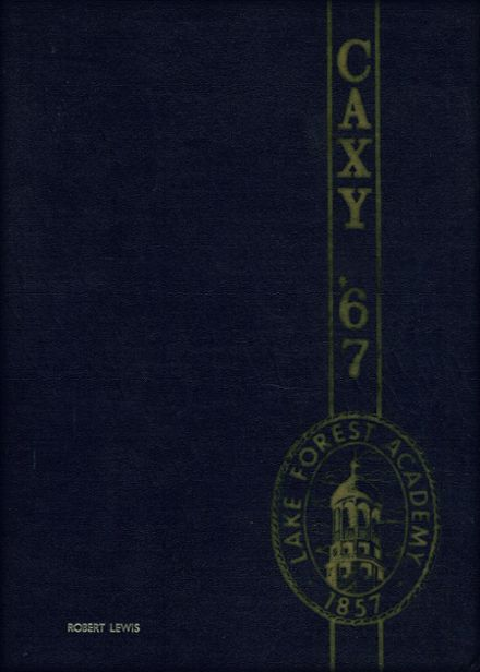 1967 Lake Forest Academy Yearbook Cover