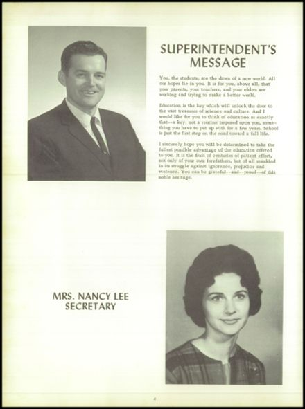1965 Puxico High School Yearbook Page 8