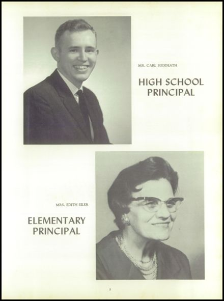 1965 Puxico High School Yearbook Page 9