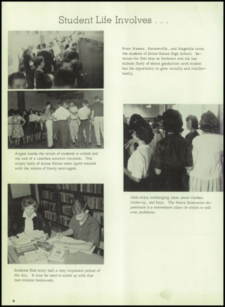 1964 Kenan High School Yearbook Page 8