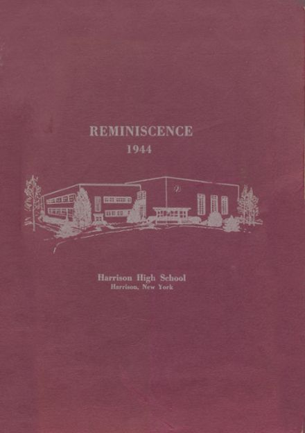 1944 Harrison High School Yearbook Cover