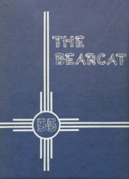 1955 Fargo High School Yearbook Cover