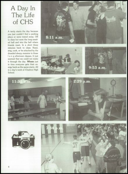 1994 Chadron High School Yearbook Page 8