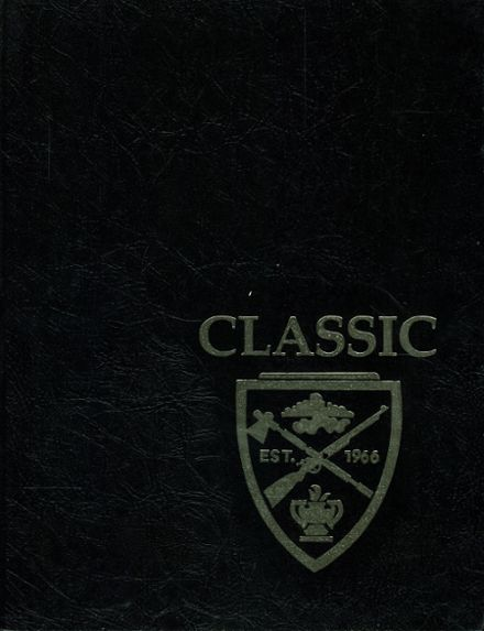 1986 Tuscola High School Yearbook Cover