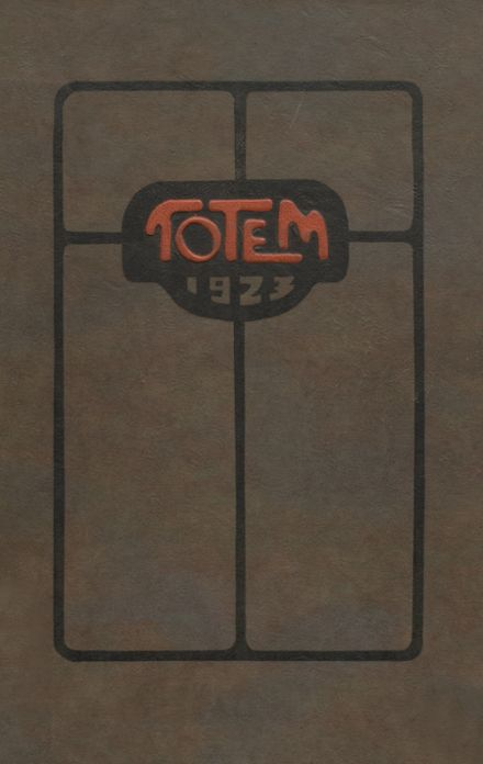 1923 Lincoln High School Yearbook Cover