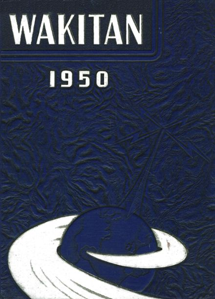 1950 Central High School Yearbook Cover