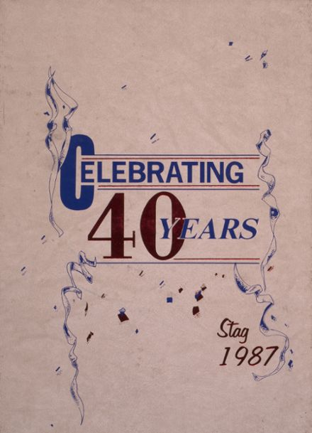 1987 Dematha Catholic High School Yearbook Cover
