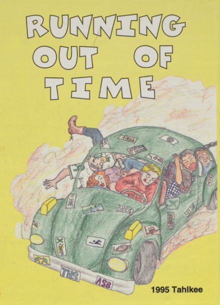 1995 Tumwater High School Yearbook Cover