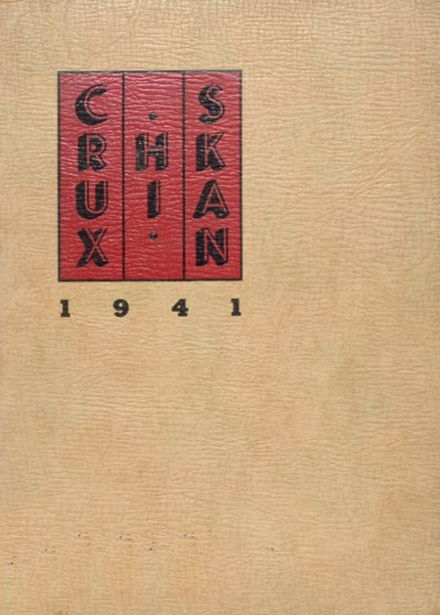 1941 Crooksville High School Yearbook Cover