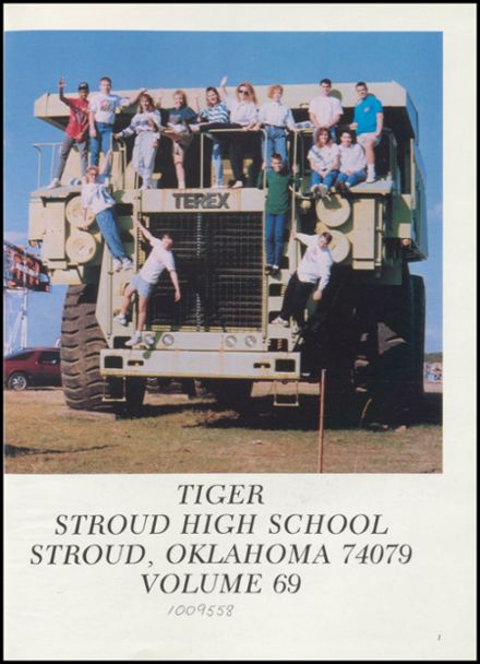 1990 Stroud High School Yearbook Page 5