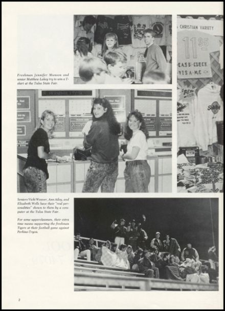1990 Stroud High School Yearbook Page 6