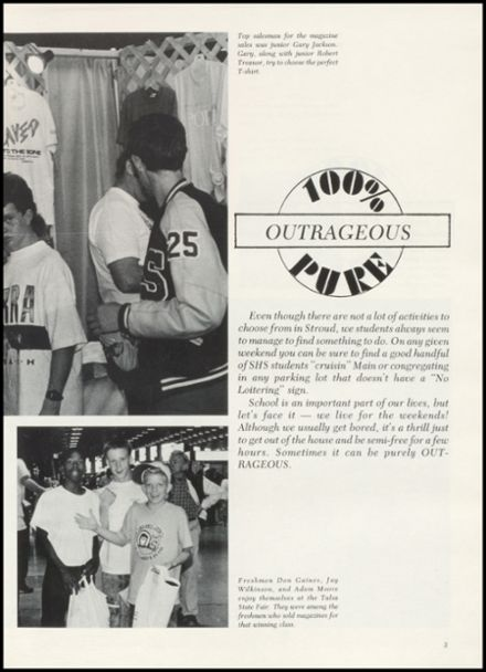 1990 Stroud High School Yearbook Page 7