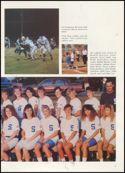1990 Stroud High School Yearbook Page 9