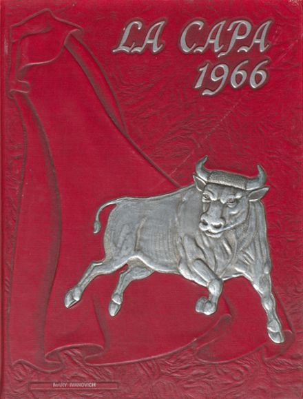 1966 La Mirada High School Yearbook Cover