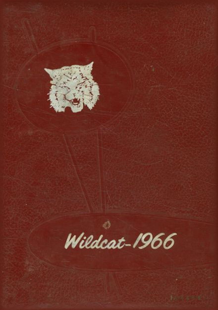 1966 Henry County High School Yearbook Cover