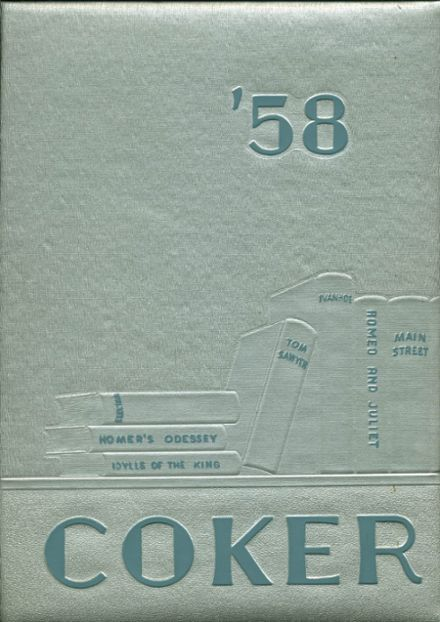 1958 Connellsville High School Yearbook Cover