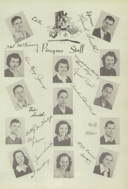 1947 Houston High School Yearbook Page 9