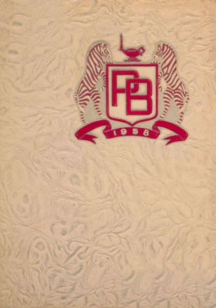 1958 Pine Bluff High School Yearbook Cover