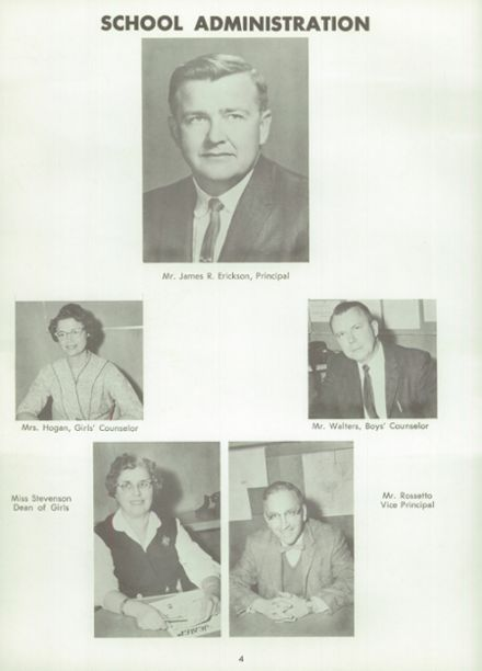 1961 Norte Del Rio High School Yearbook Page 8