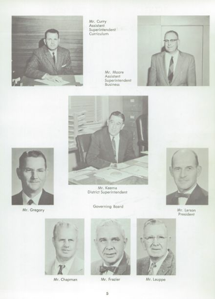 1961 Norte Del Rio High School Yearbook Page 9