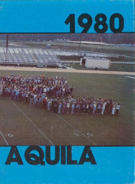 1980 Airport High School Yearbook Cover