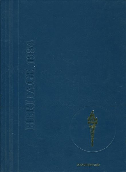 1984 First Colonial High School Yearbook Cover