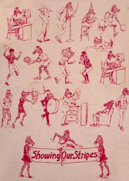 1985 Pine Bluff High School Yearbook Cover