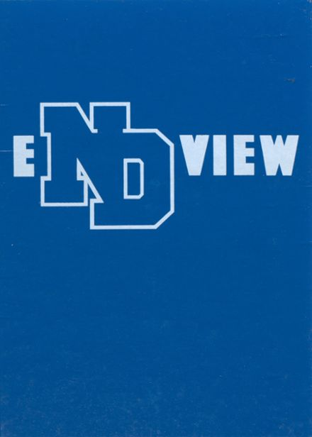 1985 Notre Dame High School Yearbook Cover