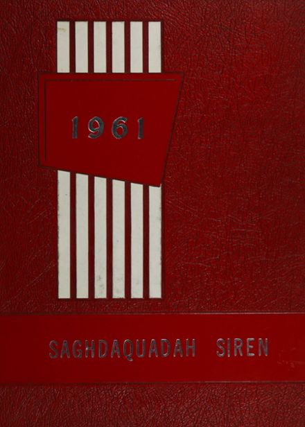1961 Sauquoit Valley Central High School Yearbook Cover