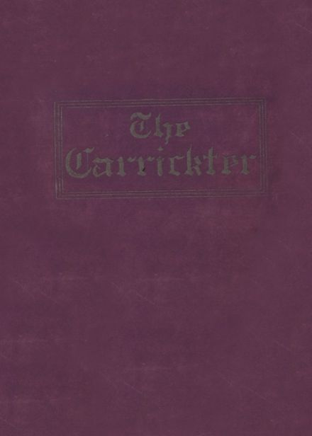 1932 Carrick High School Yearbook Cover
