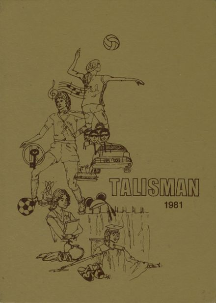1981 Tampa Preparatory Yearbook Cover