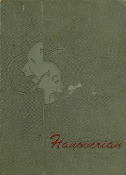 1955 New Hanover High School Yearbook Cover