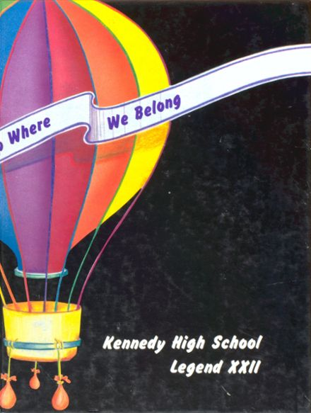 1987 Kennedy High School Yearbook Cover