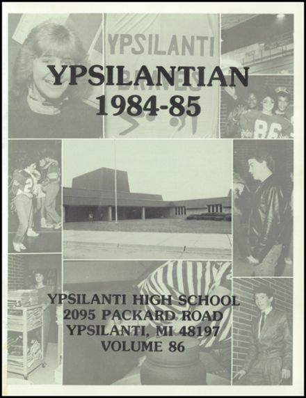 1985 Ypsilanti High School Yearbook Page 5