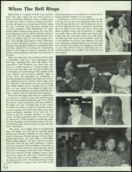 1985 Ypsilanti High School Yearbook Page 6