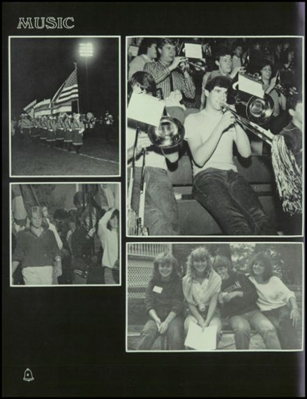 1985 Ypsilanti High School Yearbook Page 8