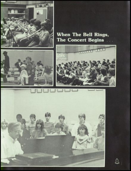 1985 Ypsilanti High School Yearbook Page 9