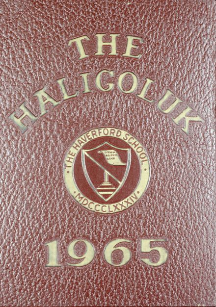 1965 Haverford School Yearbook Cover