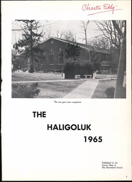 1965 Haverford School Yearbook Page 5