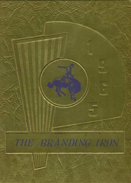 1965 Mason High School Yearbook Cover
