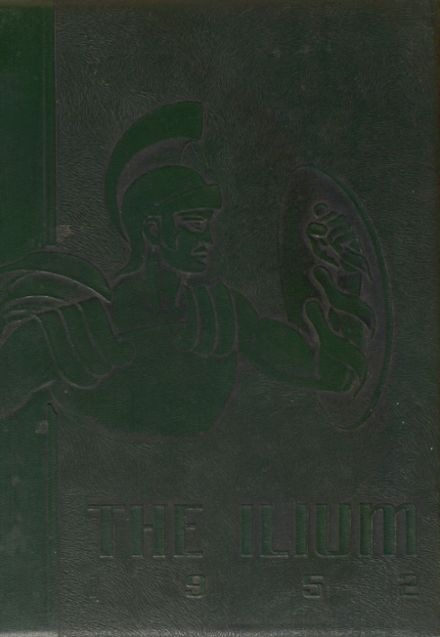 1952 Captain Jack Joint High School Yearbook Cover