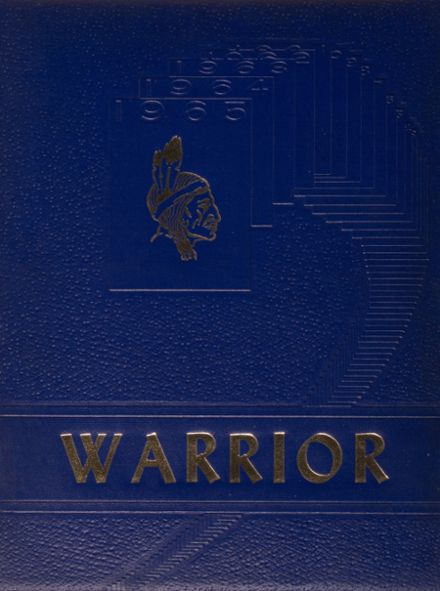 1965 Southern Local High School Yearbook Cover