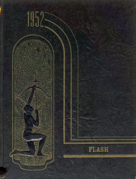 1952 Canton High School Yearbook Cover